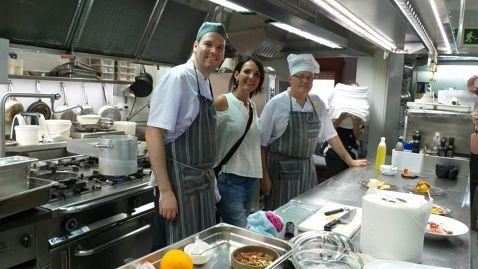 El restaurant L'Hostalet rep un grup d'australians que fan un tour Gastronòmic per Catalunya